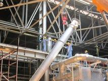 Эффективная команда в промышленных работах Стоковые Фотографии RF