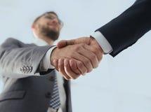 Эффективные переговоры с клиентом Фото концепции дела Стоковые Изображения RF