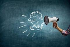 Эффективный маркетинг дела Мультимедиа Стоковое Изображение RF