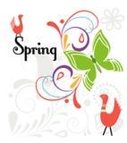 Эффектная демонстрация весны Стоковое Изображение