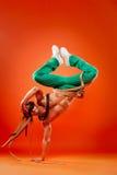 эффектное выступление профессионала танцора Стоковые Изображения RF