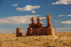 Эффектные ландшафты парка штата долины гоблина в Юте, США стоковые изображения
