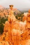 Эффектный каньон Bryce как шторм причаливает Стоковые Изображения RF