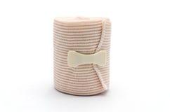 Эластичное развернутое искривление повязки обжатия ТУЗА Стоковое Фото