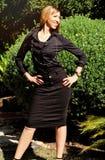 Элегантная Афро-американская женщина Стоковое фото RF