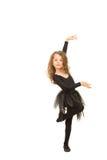 Элегантная девушка танцора стоковая фотография rf