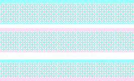 Элегантная декоративная граница составленная сини полигонов ясно и подняла Стоковые Фото