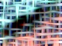Элегантная зеленая и розовая предпосылка Стоковое Фото