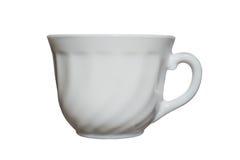 Элегантная изолированная чашка фарфора Стоковые Фотографии RF