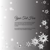 Элегантная литерность вектора в абстрактном стиле с местом для текста Улучшите для приглашений, поздравительных открыток, сохрань Стоковое Фото