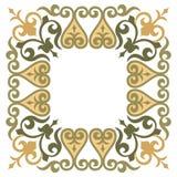 Элегантная и простая орнаментальная рамка Стоковая Фотография RF