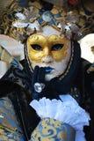 Элегантная маска, в Венеции, Италия, Европа, конец вверх Стоковое Изображение