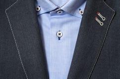 Элегантная предпосылка моды человека Стоковое фото RF