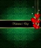 Элегантная предпосылка дня ` s валентинки Стоковые Фотографии RF