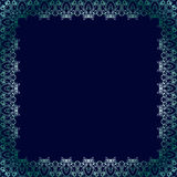 Элегантная роскошная винтажная рамка каллиграфии Стоковая Фотография RF