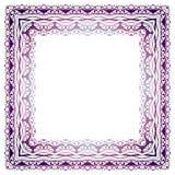 Элегантная роскошная винтажная рамка каллиграфии Стоковые Изображения RF