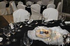 Элегантная сервировка стола Стоковое Изображение