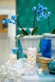 Элегантная сладостная таблица Стоковое Изображение