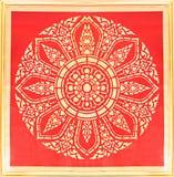 Элегантная тайская текстура искусства Стоковое Изображение