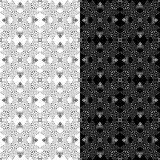 Элегантное черно-белое, предпосылка вектора Стоковое фото RF