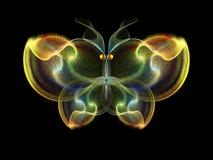 Элегантность бабочки иллюстрация вектора
