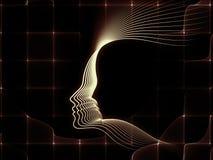 Элегантность геометрии души бесплатная иллюстрация