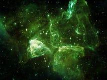 Элегантность космоса иллюстрация вектора