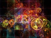 Элегантность клетчатой реальности иллюстрация штока