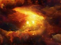 Элегантность межзвёздного облака иллюстрация вектора