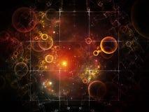 Элегантность решетки частицы бесплатная иллюстрация