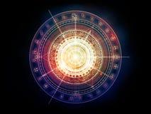 Элегантность священной геометрии иллюстрация штока