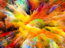 Элегантность сюрреалистической краски иллюстрация вектора