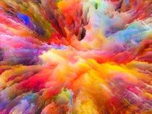 Элегантность сюрреалистической краски иллюстрация штока