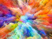 Элегантность сюрреалистической краски бесплатная иллюстрация
