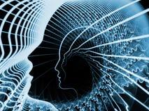 Элегантность души и разума иллюстрация вектора