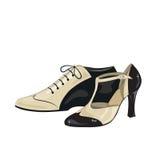 Элегантные женщины и ботинки людей Стоковые Изображения