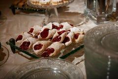 Элегантные печенья с вареньем стоковое изображение rf