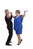 Элегантные пожилые пары Стоковая Фотография