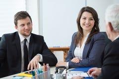 Элегантные предприниматели Стоковое Фото