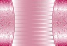 Элегантные розовые абстрактные флористические обои, безшовные Стоковая Фотография
