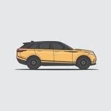 Элегантный автомобиль круиза Стоковая Фотография