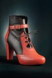 Элегантный ботинок лодыжки Стоковые Фото