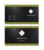 Элегантный вектор шаблона визитной карточки Стоковое Изображение RF