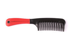 Элегантный красный гребень волос Стоковые Изображения RF
