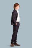 Элегантный мальчик стоковая фотография rf
