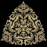 Элегантный орнамент вектора в стиле Barogue Стоковые Изображения RF
