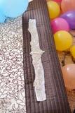 Элегантный пояс для платья свадьбы Стоковое Фото