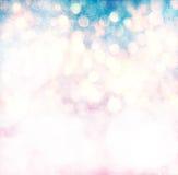 Элегантный свет рождества Bokeh Grunge Стоковое Изображение