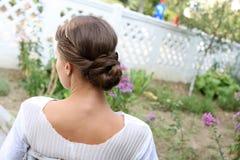 Элегантный coiffure Стоковое Изображение