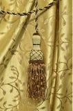 Элегантный tassel занавеса Стоковые Фотографии RF